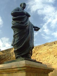 Córdoba, Estatua de Lucio Anneo Séneca