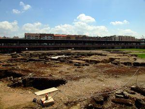 Córdoba, Yacimiento arqueológico de Cercadilla, Palacio de Maximiano