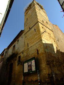 Córdoba, Alminar integrado en el Convento de Santa Clara