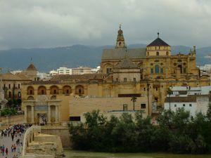 Córdoba, Vista de la Mezquita-Catedral desde la Torre de la Calahorra