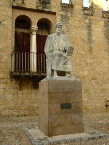 Córdoba, Estatua de Averroes