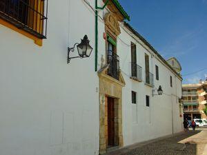 """Córdoba, Entrada a la Residencia de Ancianos """" San Jacinto"""""""