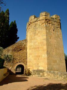 Córdoba, Torre octogonal en el lienzo Sureste de la Muralla de la Huerta del Alcázar y San Basilio