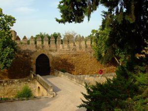 Córdoba, Lienzo Suroeste de la Muralla de la Huerta del Alcázar y San Basilio
