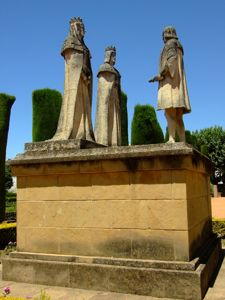 Córdoba, Recibimiento de los Reyes Católicos a Cristóbal Colón