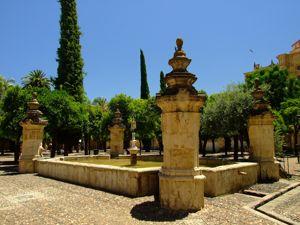 Córdoba, Patio de los Naranjos, Fuente de Santa María