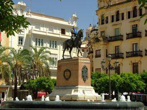 Córdoba, Estatua del Gran Capitán Gonzalo Fernández de Córdoba