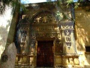 Córdoba, Portada del Museo Arqueológico y Etnológico realizada por Hernán Ruiz II