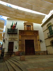 Córdoba, Portada del Palacio del Marqués de la Fuensanta del Valle
