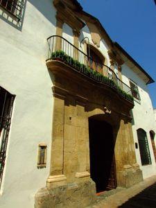 Córdoba, Fachada de la Casa de los Marqueses de la Vega de Armijo