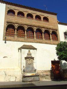 Córdoba, Casa del siglo XVII y Fuente de Dos Caños