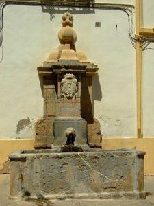 Córdoba, Fuente de la Plaza de San Rafael