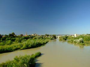 Córdoba, Vista panorámica del Guadalquivir