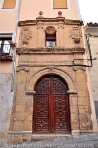 Cuenca, Portada del Convento del Carmen Calzado