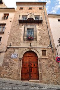 Cuenca, Centro de mayores San Pedro, edificio del Siglo XVI