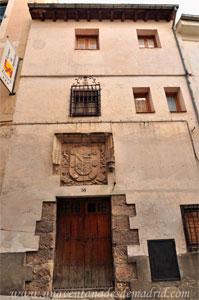 Cuenca, Escudo del Convento de Nuestra Señora del Rosal
