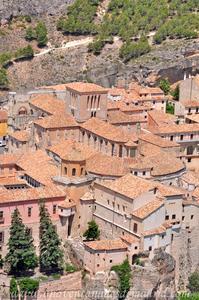 Cuenca, Imagen de la Catedral desde el Cerro del Socorro