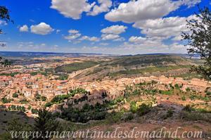Cuenca, Vista del Este de la ciudad desde el Cerro del Socorro