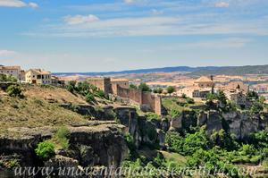 Cuenca, Vista del Norte de la ciudad desde la Ermita de San Isidro