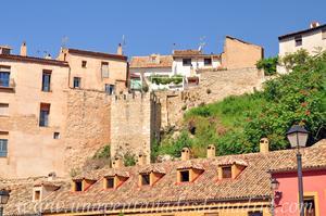 Cuenca, Muralla en el Paseo del Huécar