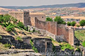 Cuenca, Murallas en la zona del castillo