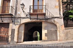 Cuenca, Arco interior de la Puerta de San Juan