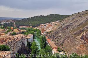 Cuenca, Río Júcar a su paso por el Noroeste la ciudad