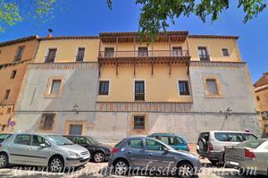 Cuenca, Fachada trasera de la Casa del Curato