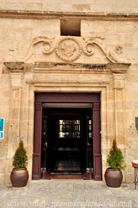 Cuenca, Entrada al Convento de San Pablo