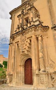 Cuenca, Portada de la Iglesia del Convento de San Pablo