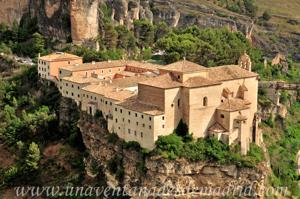 Cuenca, Fachadas Oeste (iglesia) y Norte del Convento de San Pablo