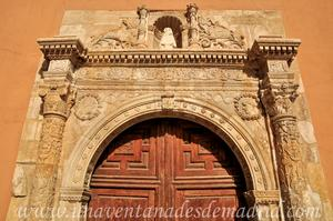 Cuenca, Portada de la antigua Ermita de Nuestra Señora de la Luz