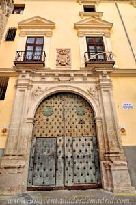Cuenca, Portada principal del Palacio Episcopal