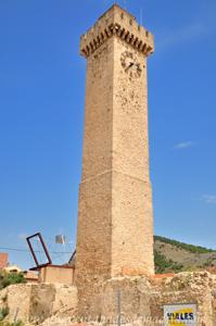 Cuenca, Laterales Oeste y Sur (reloj) de la Torre de Mangana