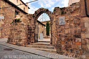 Cuenca, Arco apuntado de la Iglesia de San Pantaleón