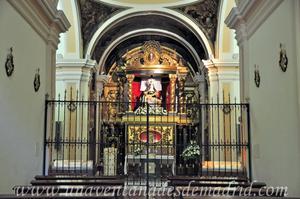 Cuenca, Altar de la Virgen de las Angustias