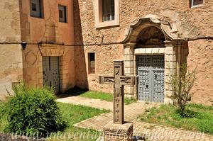 Cuenca, Portadas y Cruz del Covento de los Descalzos