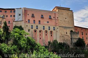 Cuenca, Fachada Oeste del Convento de la Merced