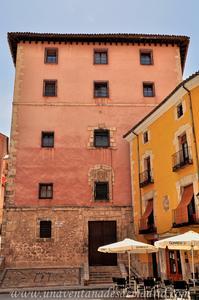 Cuenca, Antigua fachada Norte del Convento de la Merced, actual Iglesia del Convento de las Esclavas del Santísimo Sacramento