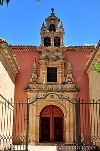 Cuenca, Portada de la Ermita de la Virgen de las Angustias