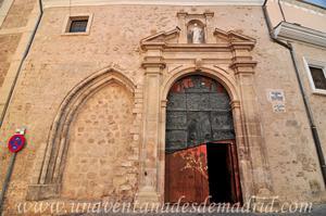 Cuenca, Portada de la Iglesia de El Salvador