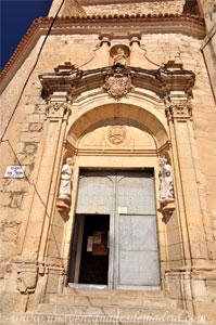 Cuenca, Portada de la Iglesia de San Pedro