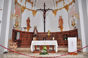 Cuenca, Iglesia de San Pedro, Presbiterio