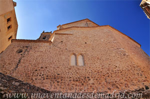 Cuenca, Ventanas geminadas del lado Este de la Iglesia de San Pedro