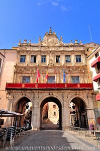 Cuenca, Fachada Norte del Ayuntamiento
