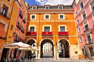 Cuenca, Fachada Sur del Ayuntamiento