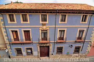 Cuenca, Casa del Corregidor vista desde la Calle Mosén Diego de Valera