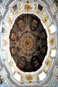 Cuenca, Cúpula de la Capilla de las Angustias del Oratorio de San Felipe Neri
