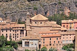 Cuenca, Fachada Este de la Iglesia de San Pedro vista desde el Cerro del Socorro