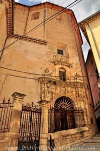 Cuenca, Entrada a la Cripta del Oratorio de San Felipe Neri